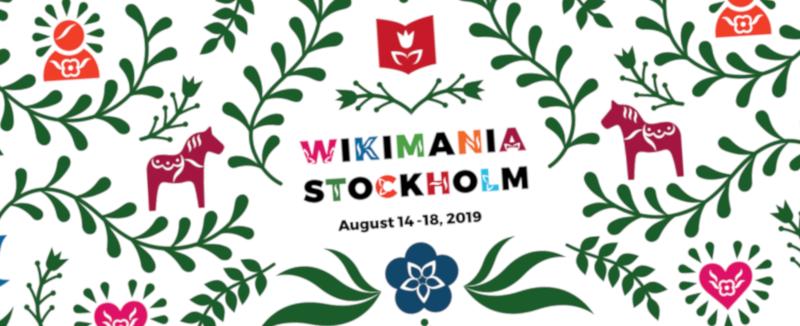 Wikimania 2019 logo