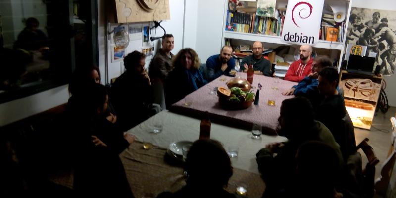 Debian meeting Seville